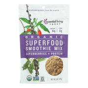 Essential Living Foods, Organic Smoothie Mix, Superfood Smoothie Mix - Case of 6 - 6 OZ