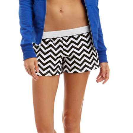 Soffe Girl's Authentic Low Rise Printed Short Authentic Soffe Shorts