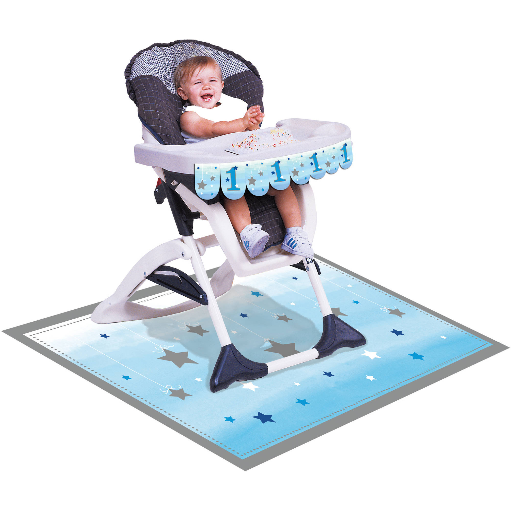 Little Star Boy High Chair Kit Each  sc 1 st  Walmart & Little Star Boy High Chair Kit Each - Walmart.com