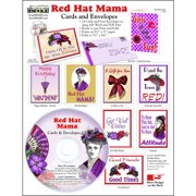 ScrapSMART Red Hat Mama Cards and Envelopes CD-ROM