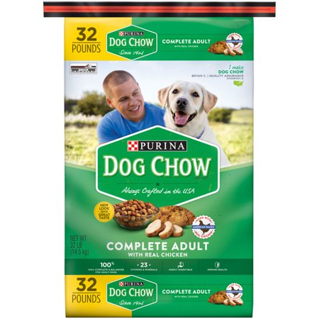 Purina Dog Chow Complete Adult Dry Dog Foo, 32 Lb.