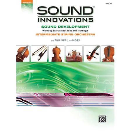 Sound Innovations Sound Development: Violin : Chorales and Warm-Up Exercises for Tone, Techinique and Rhythm: Intermediate String Orchestra](Halloween Reading Exercise Intermediate)