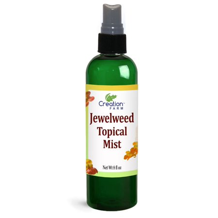 Jewelweed Spray - Poison Ivy, Bug Bites, Rash, remedy for quick relief - All Natural Botanical base of Extracts Large 8 Oz