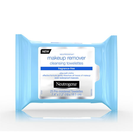 Neutrogena Makeup Remover Cleansing Towelettes (Best Pug Face Wipes)