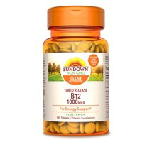 Vitamins & Supplements: Sundown Naturals B12