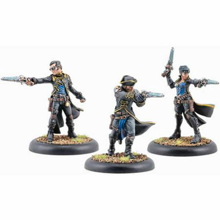 Black 13th Strike Force Unit Cygnar Warmachine Minature Game Privateer Press - Miniature Force Sensor
