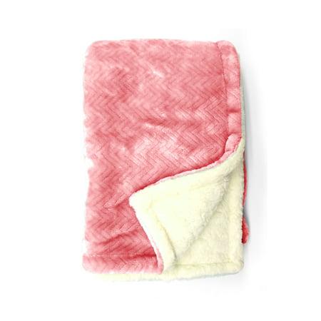 Parent's Choice Blush Royal Plush Blanket