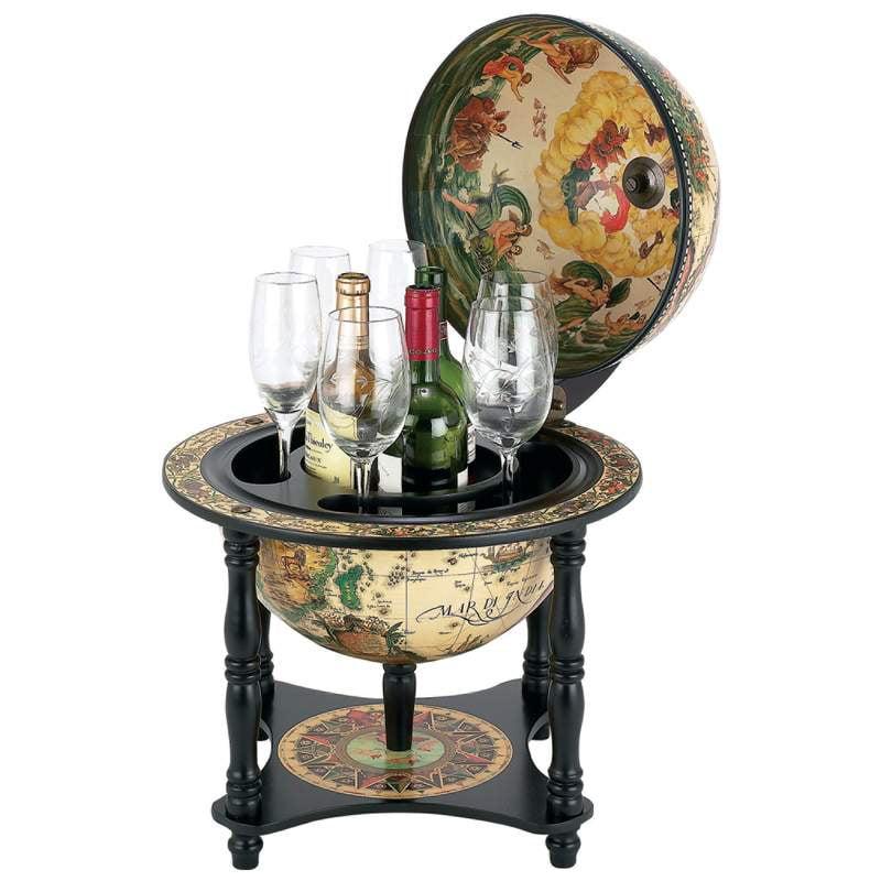 """Kassel™ 13"""" Diameter Italian Replica Globe Bar - HHGLBL330"""