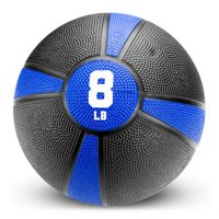 Brybelly 8lb Tuff Grip Rubber Medicine Ball