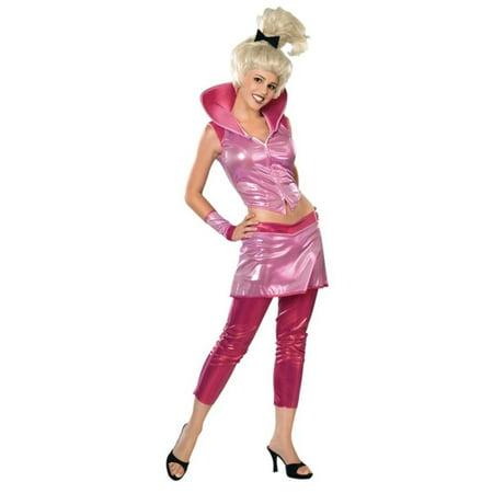 Judy Jetson Halloween Costume (Pink Judy Jetson Women Adult Halloween Costume -)
