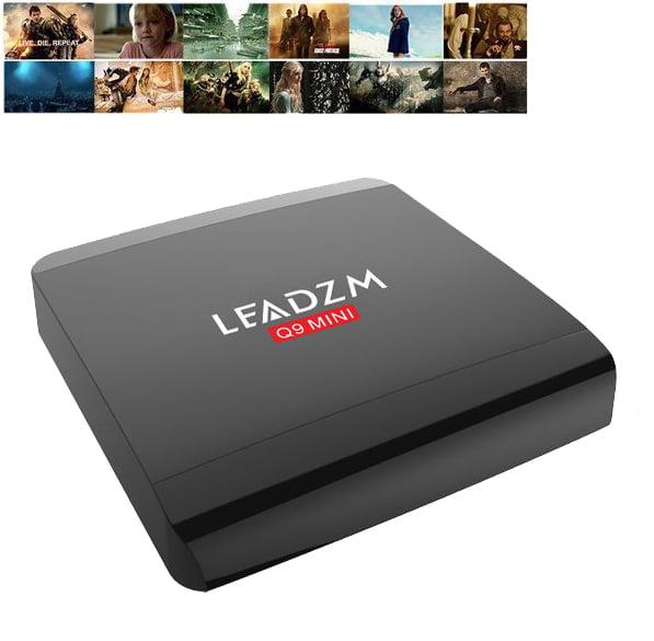 Ktaxon LEADZM Q9 MINI Rockchip RK3229 Android 5.1 HD Wifi Penta-Core GPU TV Box 1GB/8G