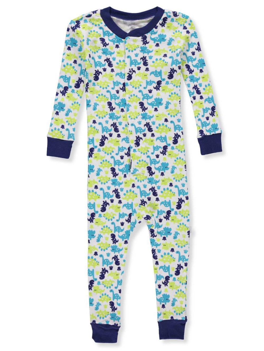 Baby Boy One Piece Turn-Me-Around Pajama