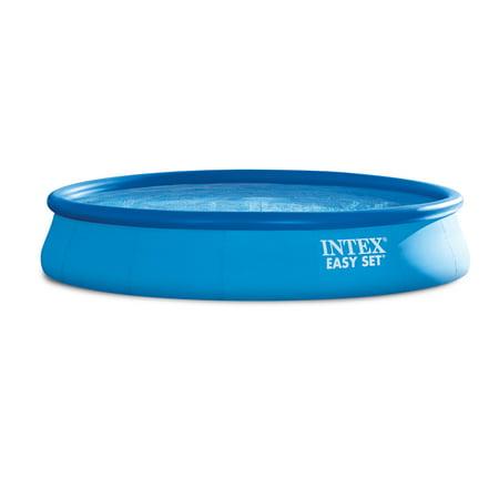 "Intex 15' x 33"" Easy Set Above Ground Swimming Pool & 530 GPH Filter Pump"
