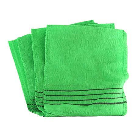 - Moduniye Korean Exfoliating Bath Scrub Washcloth Mitt - Green 4 Mitts