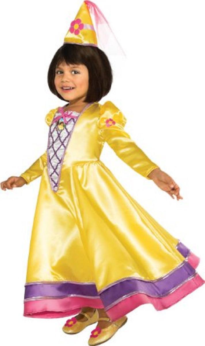 Rubies Girls Dora the Explorer La Princessa Dora Magic Fairy Child Costume (Medium 8 10) by