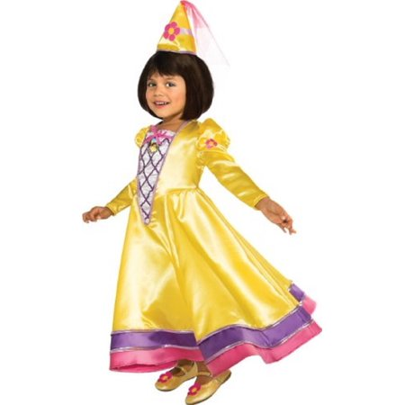 Rubies Girls Dora the Explorer La Princessa Dora Magic Fairy Child Costume (Medium 8/10) (Kid Fairy Costume)