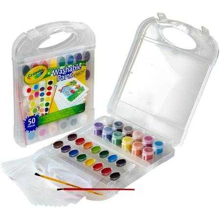Crayola Washable Paint & Paper - Washable Paper