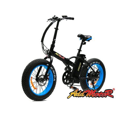Addmotor Electric Bike MOTAN M-150 Folding Electric Bicycle 500W 48V 10.4AH Blue