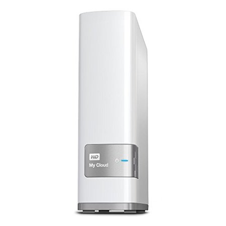 WD 4TB My Cloud Personal Network Attached Storage - NAS - WDBCTL0040HWT-NESN Western Digital My Cloud Personal Cloud Storage WDBCTL0040HWT-NESN Network Attached Storage