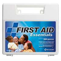 First Aid Only FAO-134 200-Piece Plastic Case First Aid Kit by First Aid Only