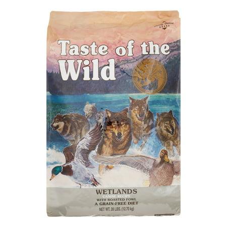 Taste of the Wild Wetlands Grain-Free Dry Dog Food, 28