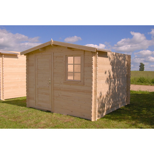 SolidBuild Optima 10 Ft. W x 10 Ft. D Solid Wood Garden Shed