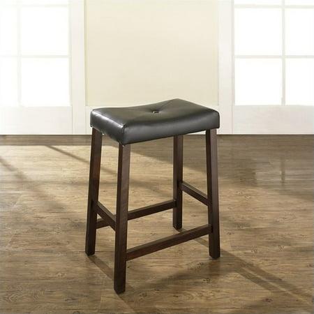 """Pemberly Row 24"""" Counter Stool in Mahogany (Set of 2) - image 1 de 5"""