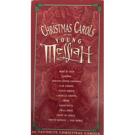 Christmas Carols of the Young Messiah(VHS 1995)TESTED-RARE VINTAGE-SHIPS N 24 HR ()