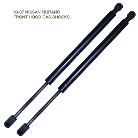 Fedar Front Hood Gas Spring For 2003-2007 Nissan Murano (Set of 2 (Nissan Murano Gas Cap Won T Open)