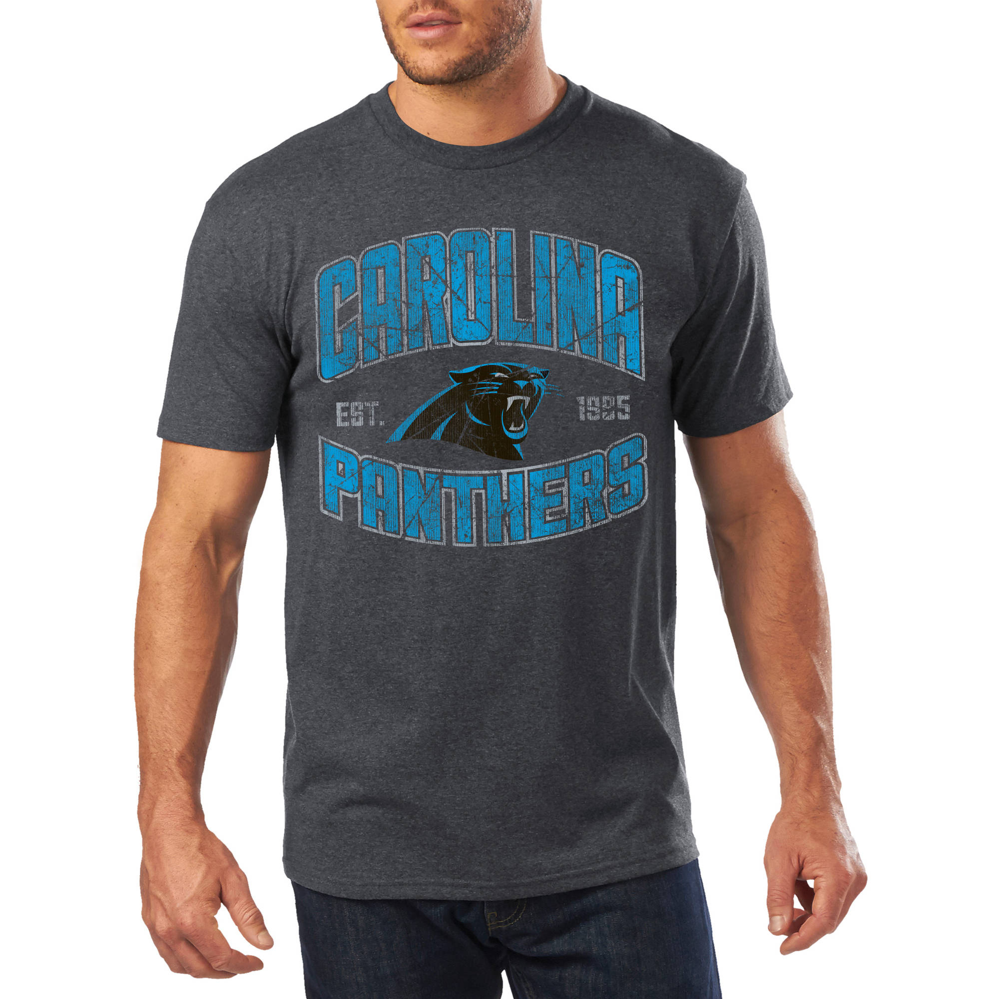 Men's NFL Carolina Panthers Short Sleeve Tee