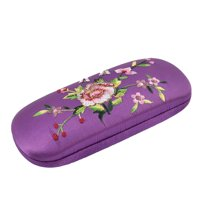 Embroide Eyeglasses Spectacles Container Protective Glasses Holder Case