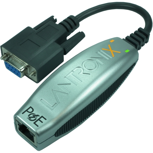 Lantronix XDT10P0-01-S Lantronix Compact 1-Port Secure Serial (RS232) to IP Ethernet Device Server; Up to 256-bit AES encryption; Power Over Ethernet (PoE) 802.3AF - Secure; Integrated; Plug-and-play