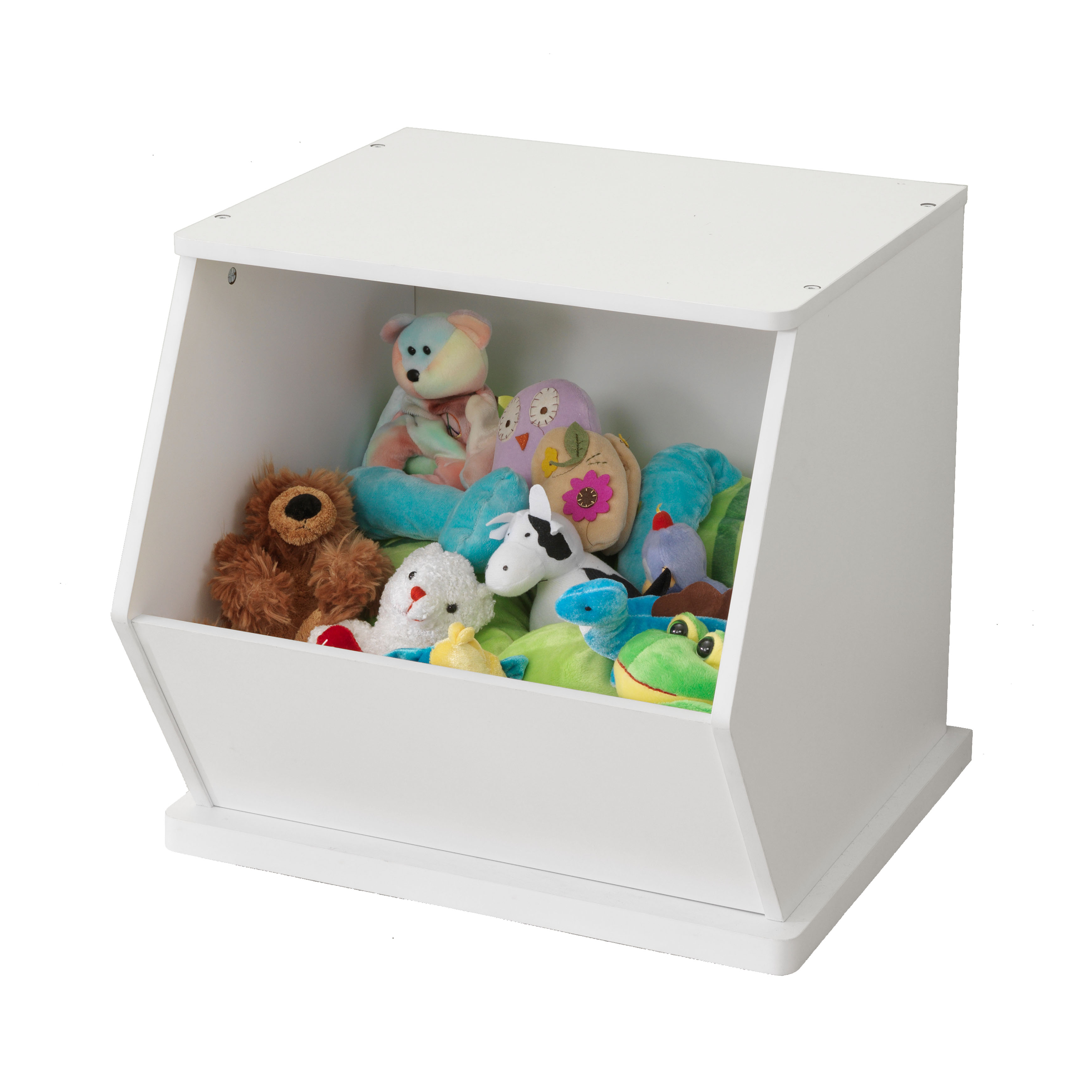 KidKraft Single Storage Unit   White