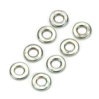 Dubro Products #2 Flat Washer, DUB321