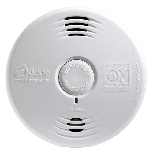 Kidde Worry-Free 10-Year Bedroom Smoke Detector P3010B by Generic