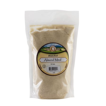 Grain Brain Blanched Almond Flour/Meal Super Fine Grind (12oz) All Natural,Gluten Free, Non GMO. Packaged in resealable pouch