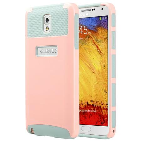 Note 3 Case, Galaxy Note 3 Case - ULAK 2in1 Slim Hybrid Soft TPU Hard