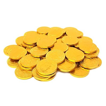 Coins Milk Chocolate Candy Gold, Bulk (2Lbs) - Coin Chocolate