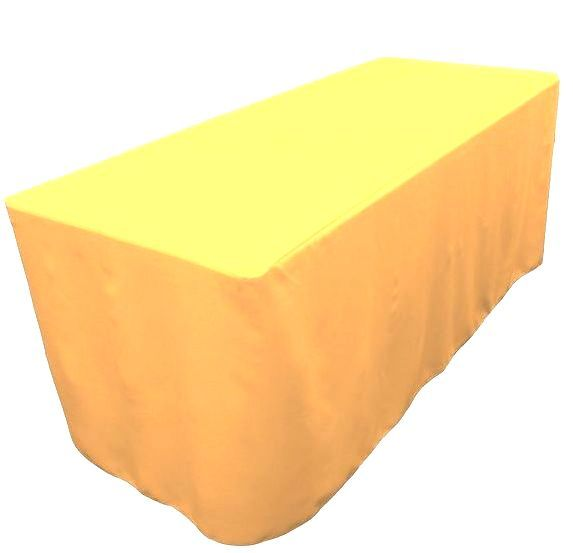 5/' ft Fitted Table Cover WATERPROOF Table Cover Patio Outdoor Indoor Trade show