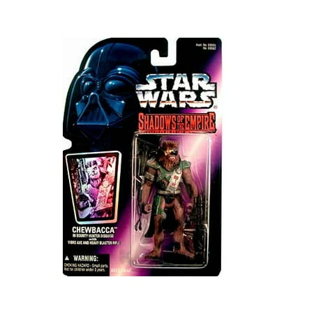 Star Wars: Shadows of the Empire Chewbacca in Bounty Hunter Disguise Action