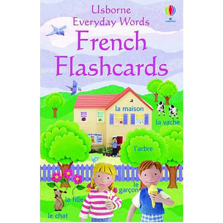 Everyday Words in French (Everyday Words Flashcards) (Loose Leaf) - Halloween Flashcards French