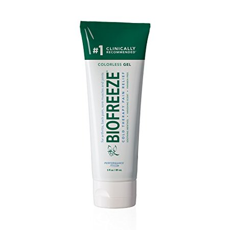 - 3 Pack Biofreeze Classic Colorless Formula Pain Relief Gel 3oz Tube Each