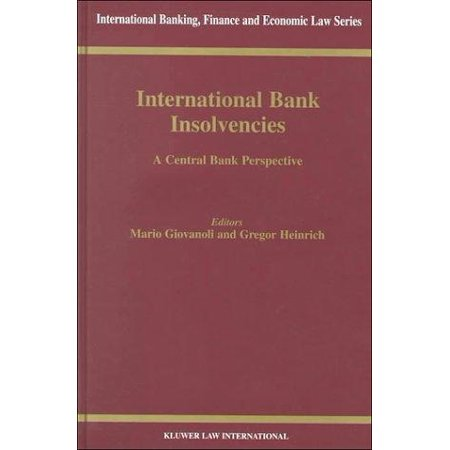 International Bank Insolvencies  A Central Bank Perspective