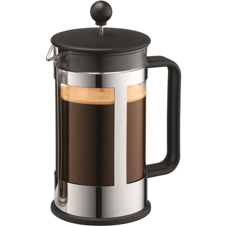 French Press Coffee Maker Cholesterol : Bodum Kenya French Press Coffee Maker, 8-Cup, 34 oz, Black - Walmart.com