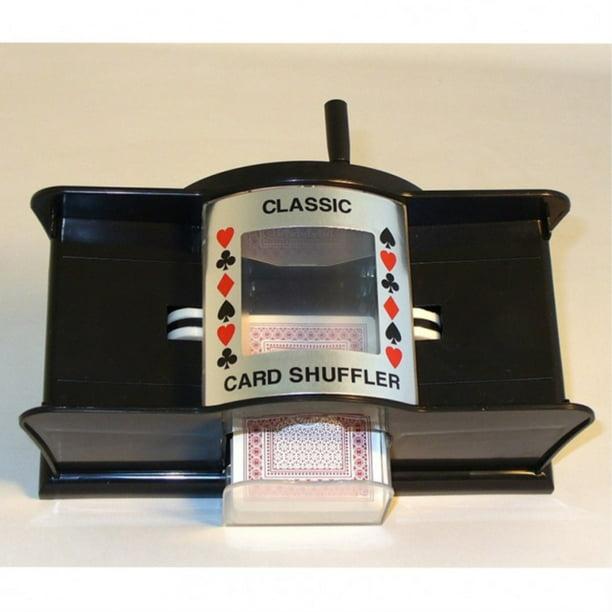 classic game collection manual card shuffler  walmart