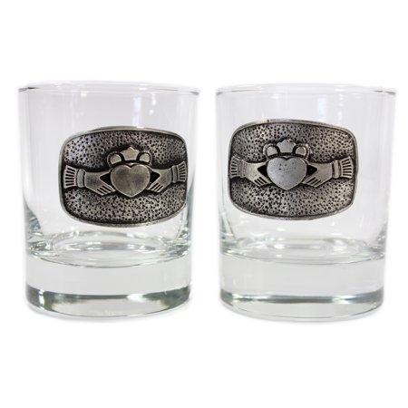 Mullingar Pewter Whiskey Glass Set - Pewter Whiskey