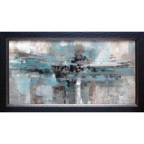 North American Art Morning Fjord by Silvia Vassileva Framed Painting Print