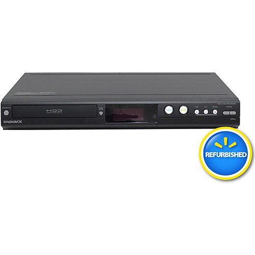 Magnavox MDR533H/F7 320GB HDD and DVD Recorder with Digital Tuner, Refurbished