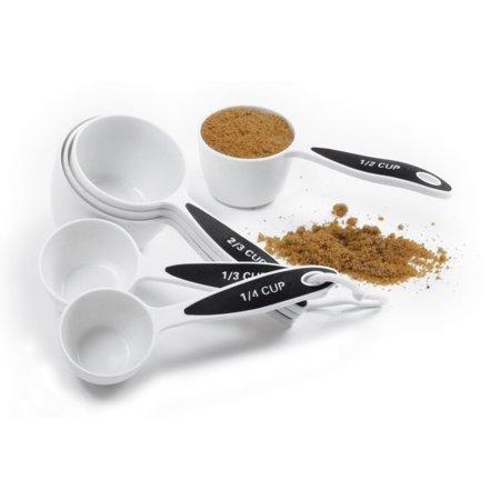 Measuring Cup Set - Norpro Grip-Ez Measuring Cup Set Of 6 New Bpa Free Plastic Comfortable Grip