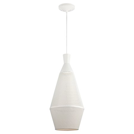 Marx - 1 Light Perforated Metal Shade Pendant w/ 14w LED PAR Lamp Incl.